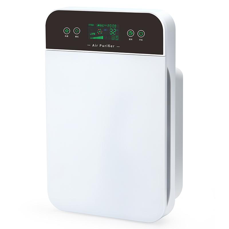 科朗顿家用负离子空气净化器除甲醛卧室内客厅氧吧雾霾pm2.5除烟