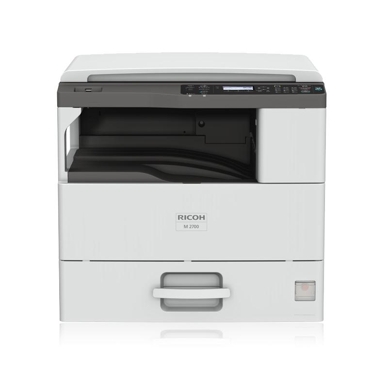 理光官方旗舰店M2700多功能黑白激光复合机a3打印机a3复印机扫描复印自动双面打印一体办公有线网络原装行货