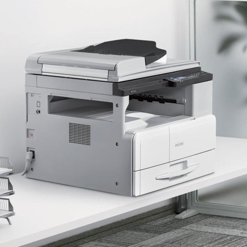 理光ricoh旗舰店MP 2014AD黑白数码A3双面打印A3双面复印机A4打印机多功能一体机三合一办公商用复合机原装