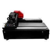 uv平板打印机小型万能手机壳pvc玻璃服装衣服t恤数码直喷印花机器