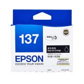 爱普生 T1371黑色墨盒 适用K100 K200 K105 K205机器墨盒