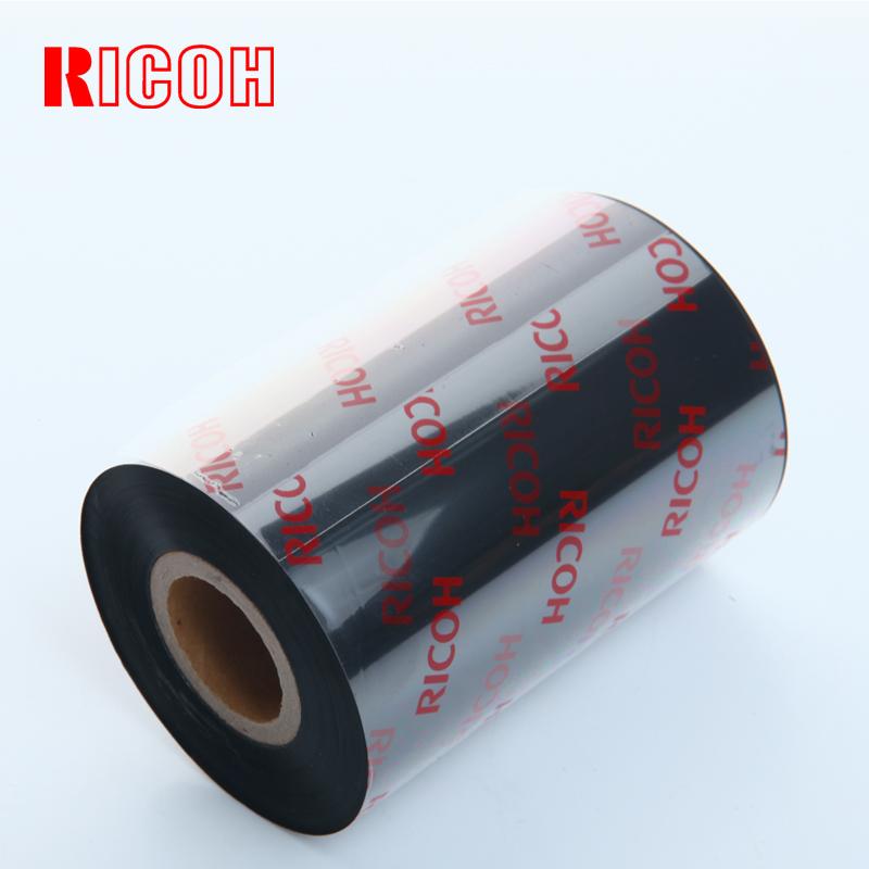 正宗理光全树脂基碳带RICOH B110CR色带9cm x 300m条码机墨带PET