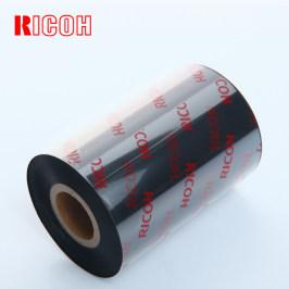 RICOH理光B110A混合基碳带卷110X300m 40mm 50 60 70 80 90 100条码打印机不干胶铜版标签合成贴纸吊牌增强色