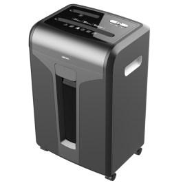 得力34250碎纸机家用办公大功率电动商用31L大型多功能文件纸张光盘粉碎机