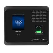 ZKTeco/熵基科技WX108企业微信人脸识别考勤机 面部指纹打卡机手机APP签到机网络考勤云考勤机WIFI 中控智慧