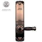 意大利雅努斯JANUS触摸电动滑盖智能电子家用防盗指纹密码锁 CF-1