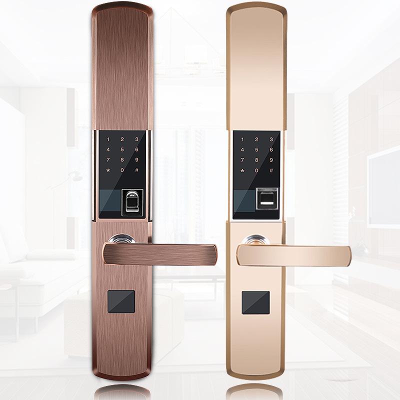 容心指纹锁防盗门家用密码锁电子锁智能家居IC卡电子门入户可贴牌