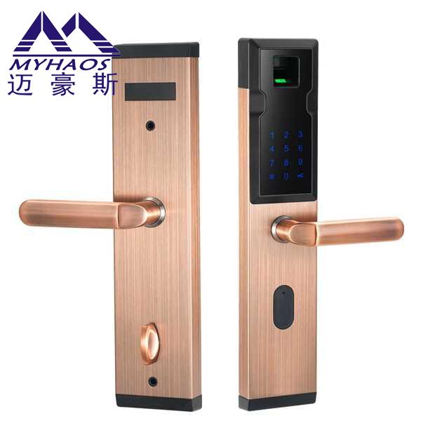迈豪斯指纹锁 方便快捷 智能家居 指纹密码锁 TF5210