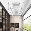智能升降电动晾衣架遥控阳台家用晒衣架伸缩小户型自动烘干晾衣机
