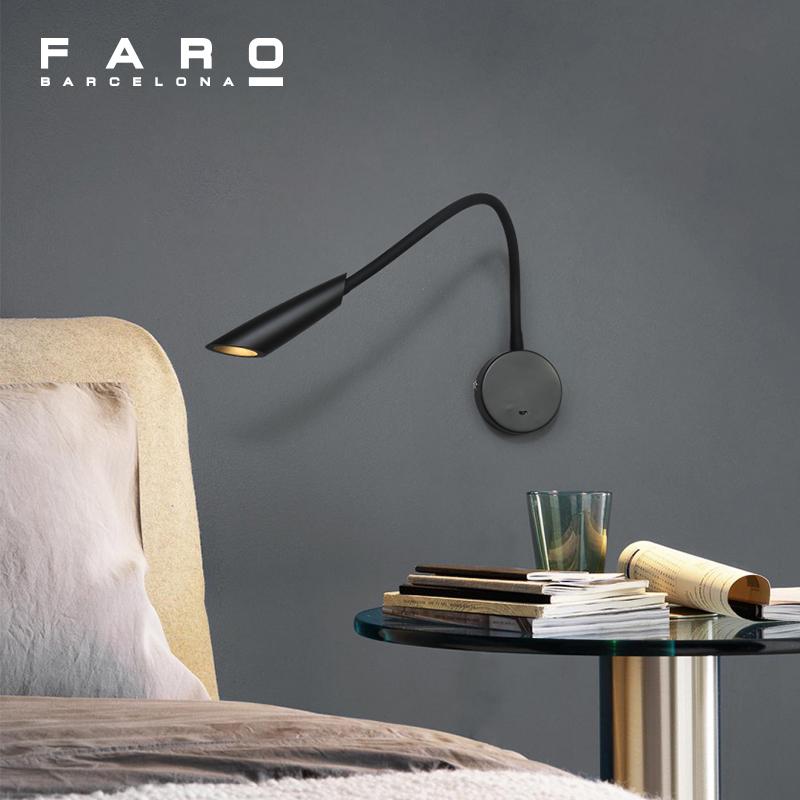 床头灯现代简约壁灯卧室北欧床头灯阅读壁灯床头壁灯