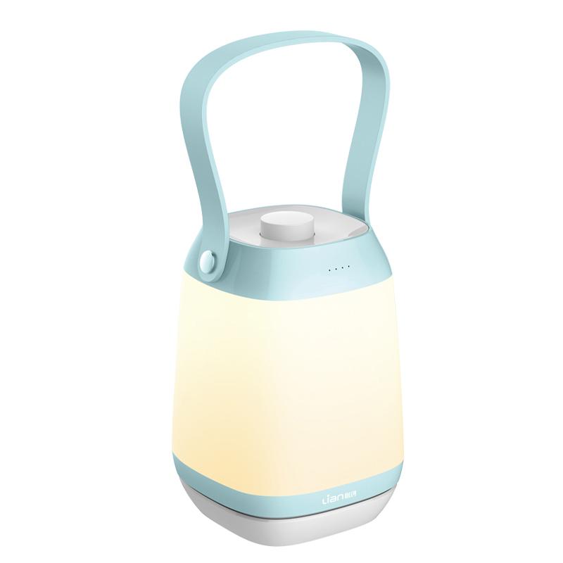 联创小夜灯充电式可移动婴儿宝宝喂奶护眼学生宿舍卧室睡眠床头灯