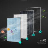 空气净化器家用卧室办公室小型负离子杀菌除甲醛异味二手烟PM2.5