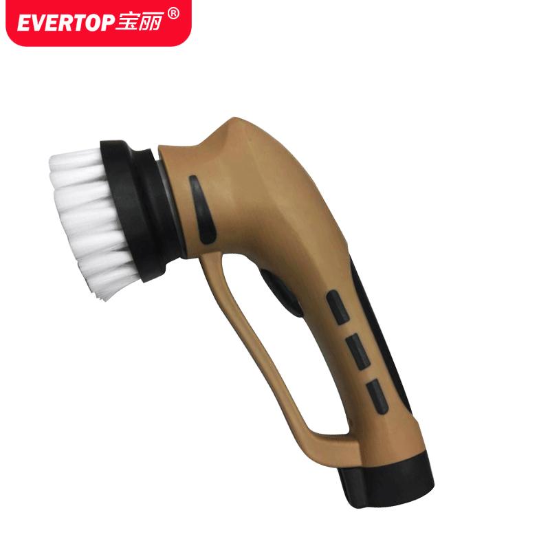 宝丽电动擦鞋机全自动家用懒人洗刷鞋皮具护理多功能便携充电